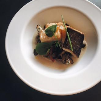 The Primal Gourmet: Chilean Sea Bass with Cured Quail Egg Yolk