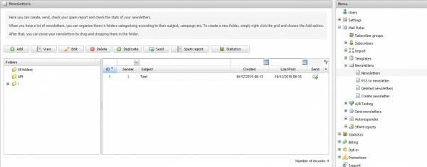 Интерфейс Mailrelay был доставлен на машине времени из прошлого