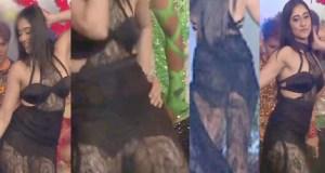 Regina Cassandra's wardrobe malfunction