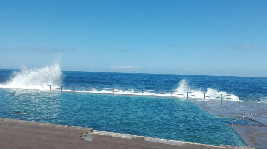 Bajamar pool in Tenerife