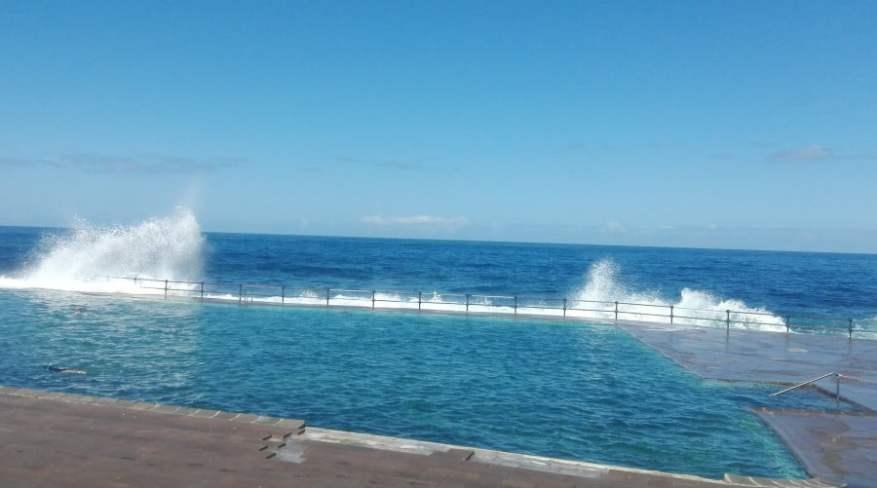 Bajamar pool in Tenerife