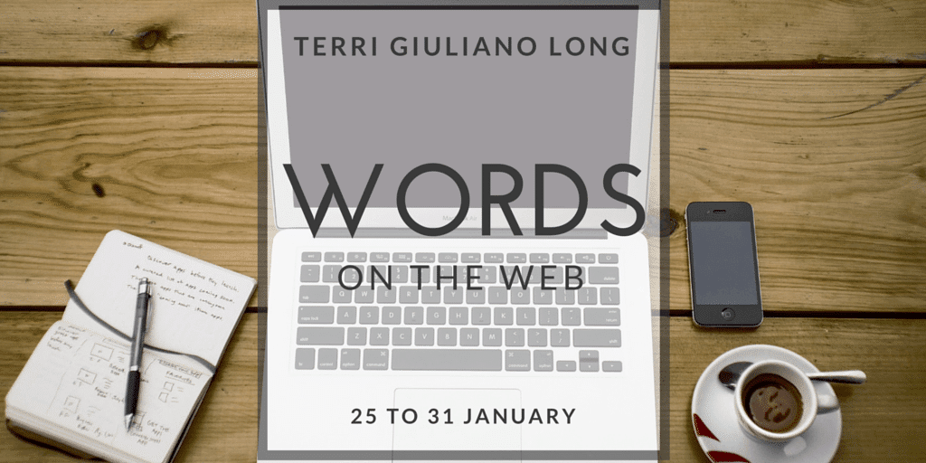Storify: Words on the Web: 25 January to 31 January