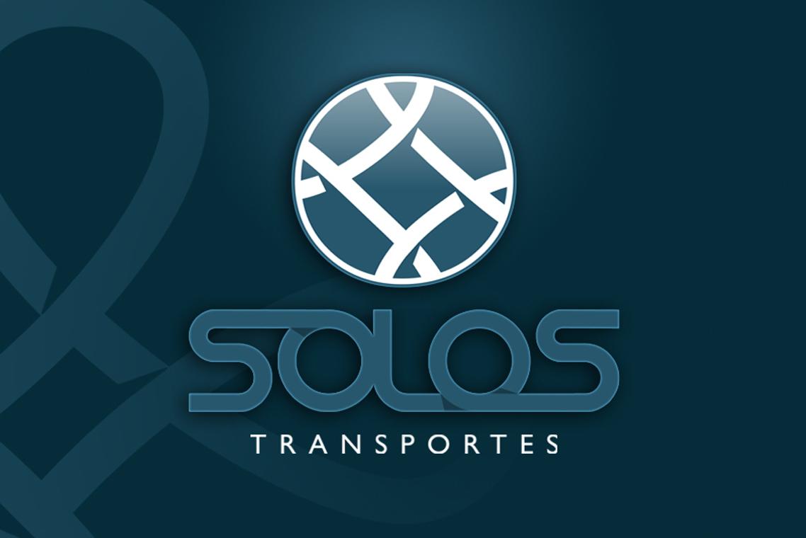 Desenvolvimento de logo, Logo design Solos Transportes