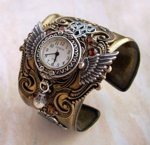 Steampunk Watch 3