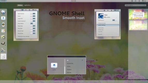 GNOME Shell - Smooth Inset