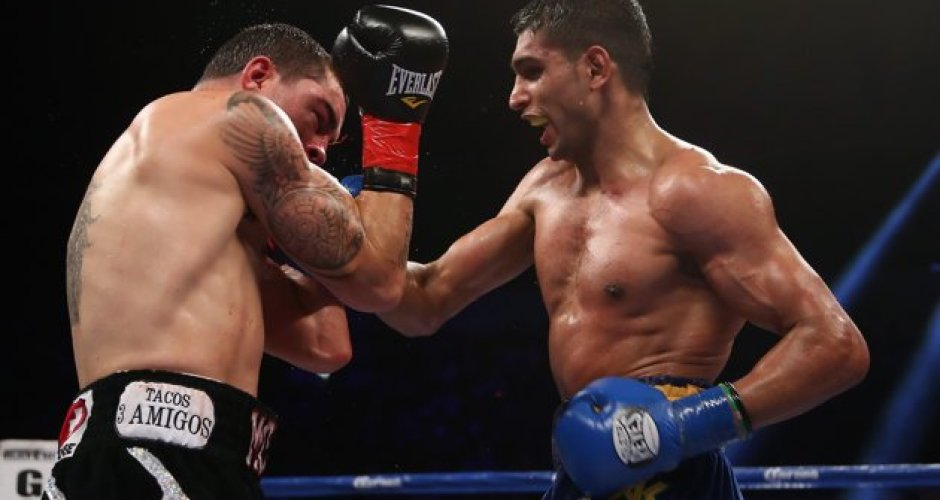 "The Return of the ""King"": Amir Khan Makes A Statement With Stoppage of Carlos Molina"
