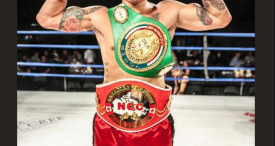 "Canadian Welterweight Champion Steve ""The Dragon"" Claggett to Return On November 9th In Calgary"