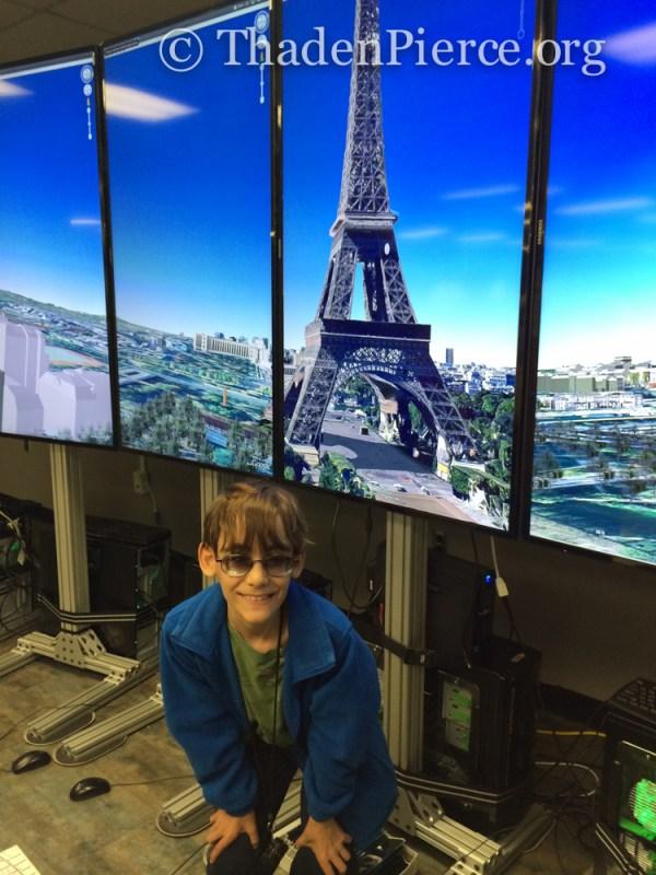 Ben sees Paris!