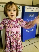 Livy noticed NASA recycles!