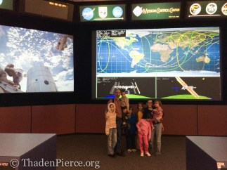 Yes, that would be mission control. REALLY!