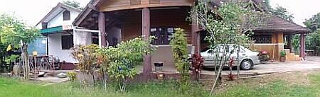 บ้านที่อำเภอเกาะคา จังหวัดลำปาง