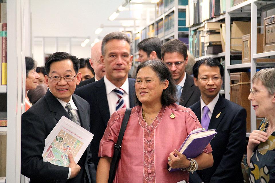 Besuch Prinzessin Sirindhorn am AAI Hamburg (29. Juni 2011) - Bild 20
