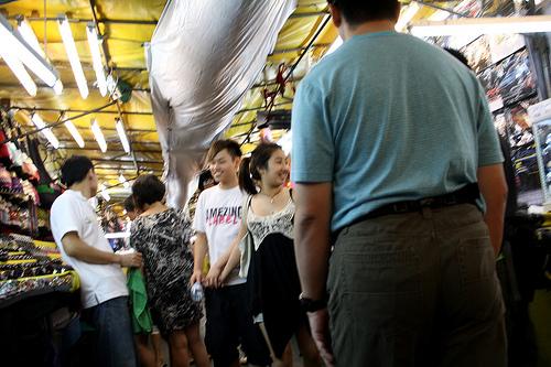 タイの歓楽街パッポン通りの写真