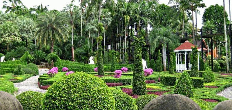 ботанические сады паттаи