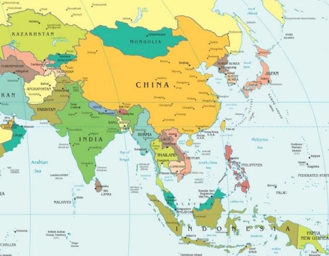 Где находится Таиланд на карте мира