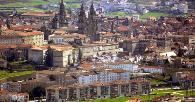 Где лучший активный отдых в Испании - Сантьяго-де-Компостела