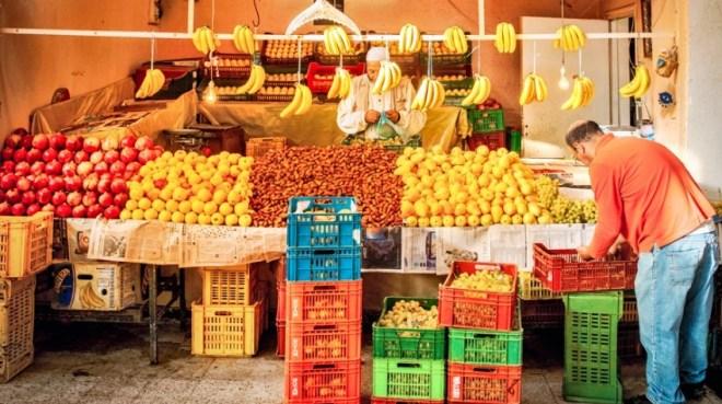 Цены в Тунисе на фрукты и овощи