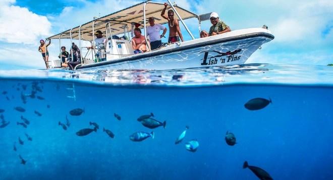 diving in Tunisia