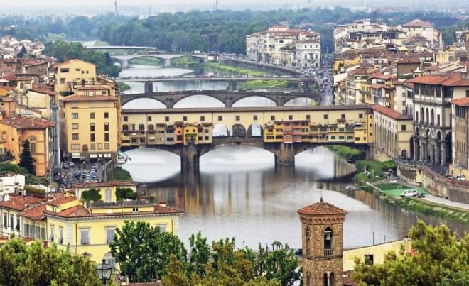 Город Флоренция в Италии