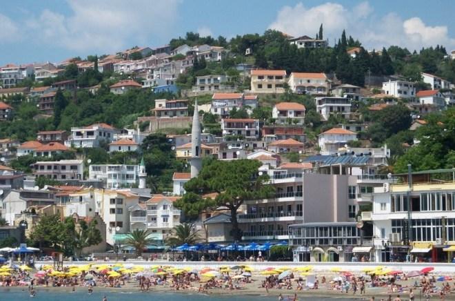 Курорт Ульцинь в Черногории