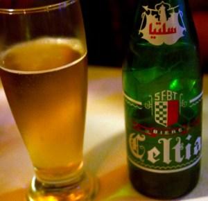 Алкоголь в Тунисе - пиво Celtia