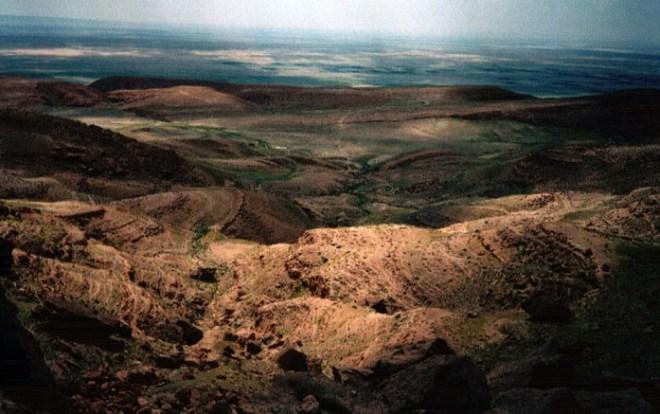 Атласские горы Туниса