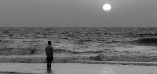 lonely-at-panambur-beach