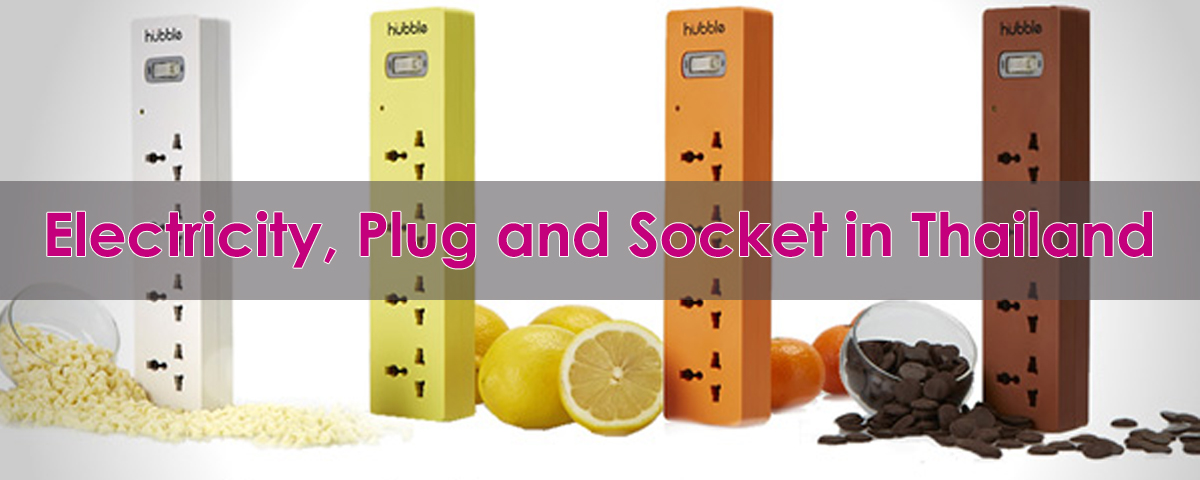 Electricity, Plug and Socket in Thailand Banner ThaiSims