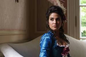 SLEEPY HOLLOW: Betsy Ross (Nikki Reed) in the ÒWhispers In The DarkÓ episode of SLEEPY HOLLOW airing Thursday, Oct. 8 (9:00-10:00 PM ET/PT) on FOX.  ©2015 Fox Broadcasting Co. CR: Tina Rowden/FOX