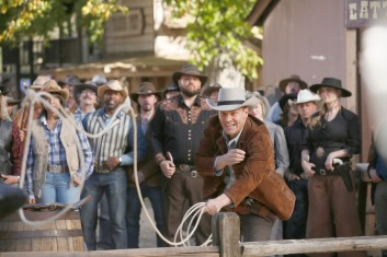 """BONES: David Boreanaz in the first part of the two-hour """"The Cowboy in the Contest/The Doom in the Boom"""" fall finale episode of BONES airing Thursday, Dec. 10 (8:00-10:00 PM ET/PT) on FOX. ©2015 Fox Broadcasting Co. Cr: Jennifer Clasen/FOX"""