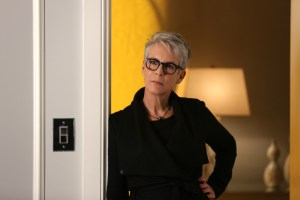 "SCREAM QUEENS: Jamie Lee Curtis in the ""Ghost Stories"" episode of SCREAM QUEENS airing Tuesday, Nov. 17 (9:00-10:00 PM ET/PT) on FOX. ©2015 Fox Broadcasting Co. Cr: Patti Perret/FOX."
