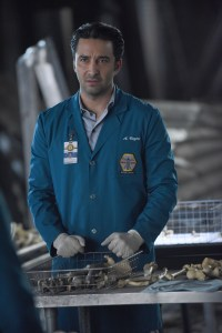 "BONES:  Guest star Pej Vahdat in ""The Final Chapter:  The End in the End"" series finale episode of BONES airing Tuesday, March 28 (9:01-10:00 PM ET/PT) on Fox.  ©2017 Fox Broadcasting Co.  Cr:  Ray Mickshaw/FOX"