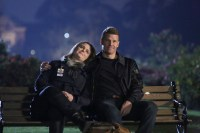 "BONES:  L-R:  Emily Deschanel and David Boreanaz in ""The Final Chapter:  The End in the End"" series finale episode of BONES airing Tuesday, March 28 (9:01-10:00 PM ET/PT) on Fox.  ©2017 Fox Broadcasting Co.  Cr:  Patrick McElhenney/FOX"
