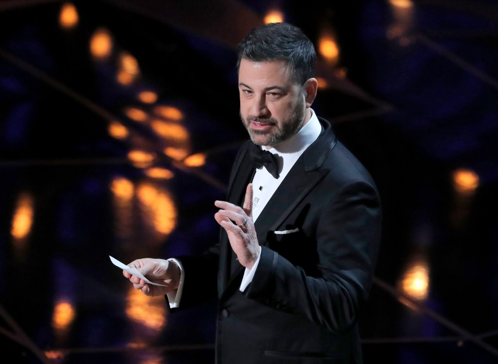 90th Academy Awards - Oscars Show - Hollywood, California, U.S., 04/03/2018 - Host Jimmy Kimmel. REUTERS/Lucas Jackson