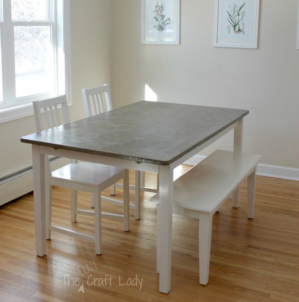 easy home decor diys gray kitchen table diy concrete kitchen table