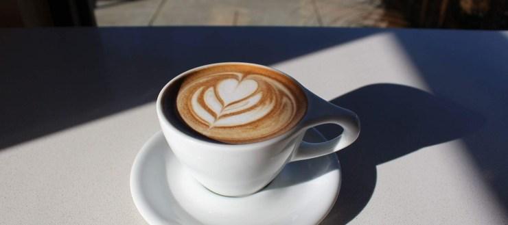 tulip latte art