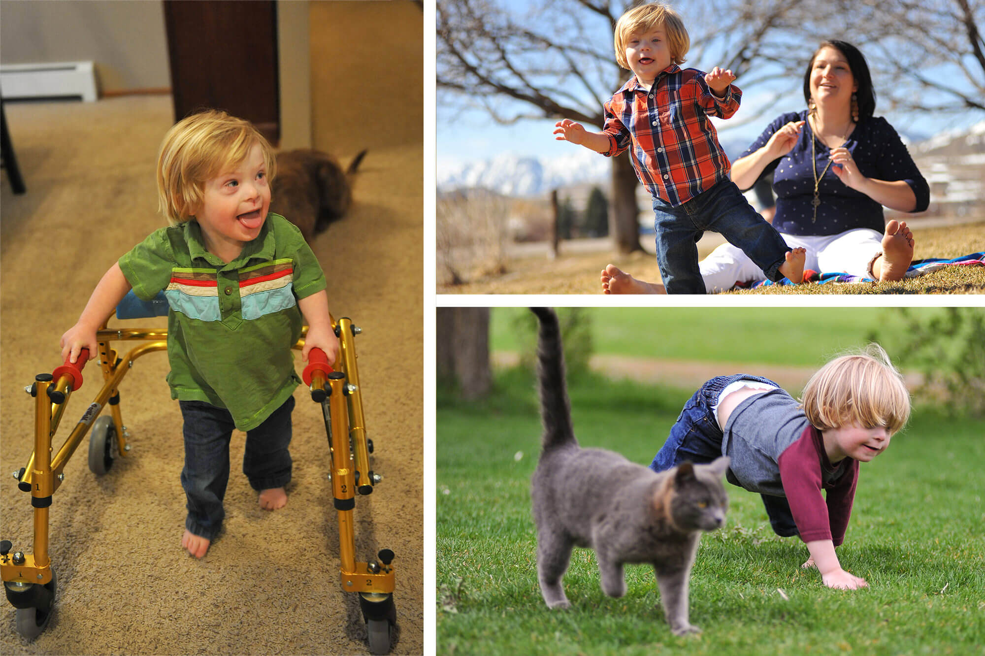 Milestones for child with Down Syndrome