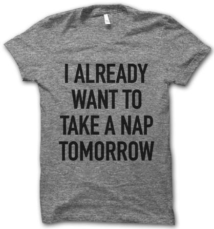 want a nap