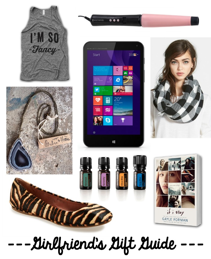 girlfriends gift guide collage