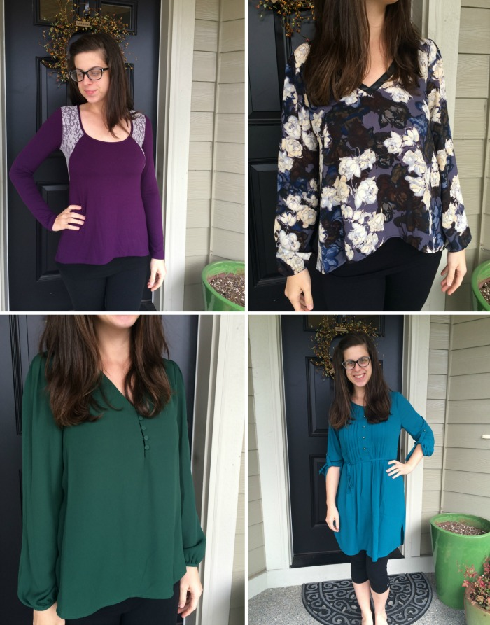 STITCH FIX FIVE RETURNS