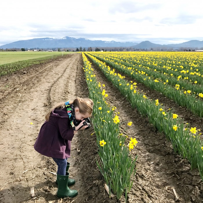 Jem the daffodil photographer