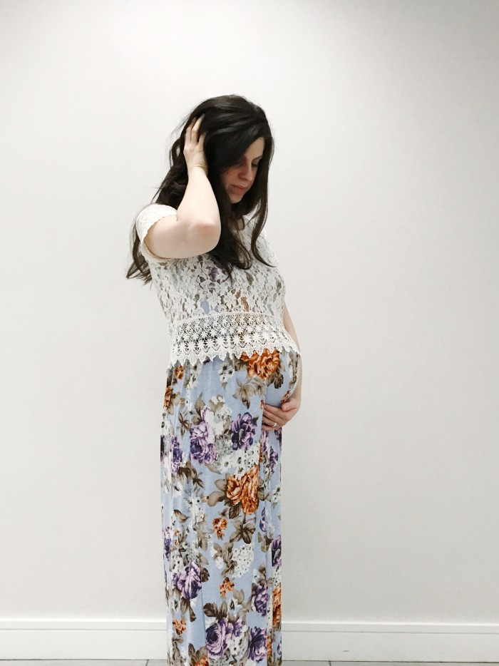PinkBlush Maternity Floral Maxi