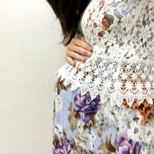 PinkBlush Second Trimester Dress