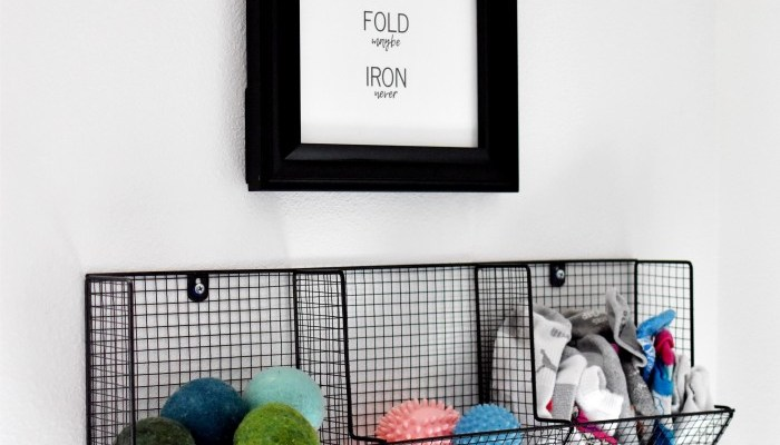 Free Printable — Laundry Room Art