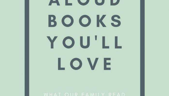 Our 2018-2019 School Year Family Read Aloud Books