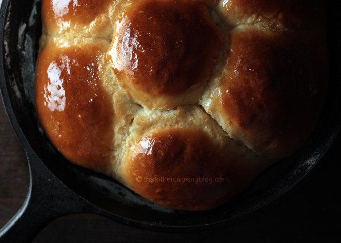 Honey Glazed Yogurt Brioche