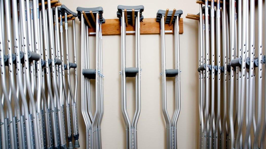 More Crutches Pronto