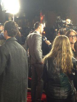 Nicholas Hoult, Warm Bodies, Premiere
