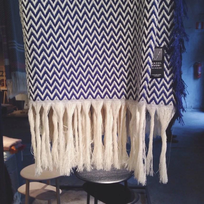 INGRIDESIGN Bunad blanket by Andreas Engesvik Mandal Veveri Norwegian Presence