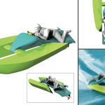 Mako: The Personal Hydro-Dragster…designed by idiots, for idiots.